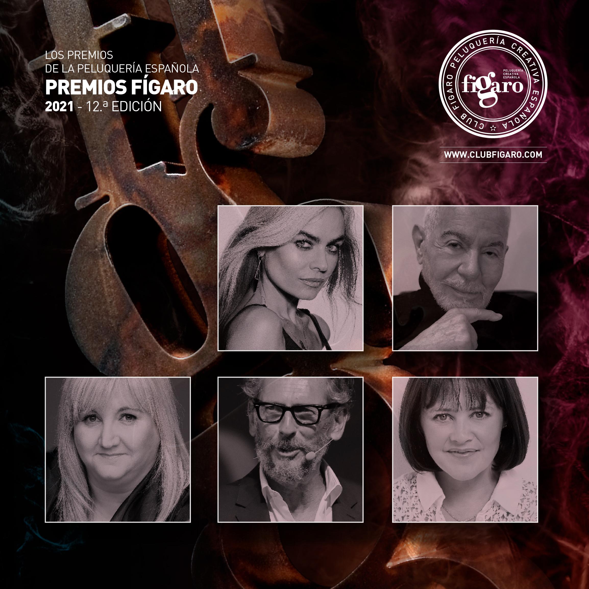 El jurado profesional de los Premios de la Peluquería Española en su 12.ª edición.