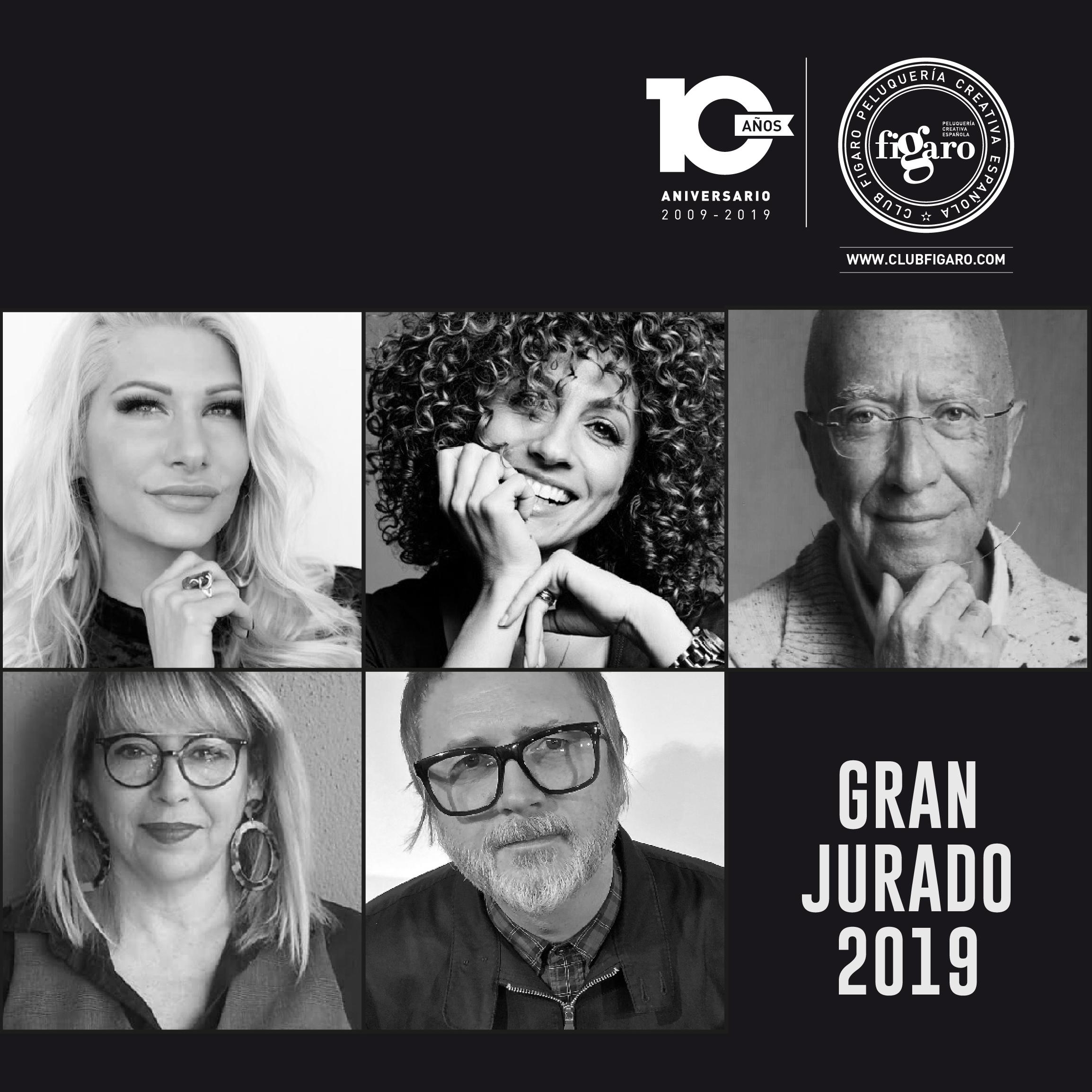 Club Fígaro anuncia el jurado de los Premios de la Peluquería Española en su décima edición