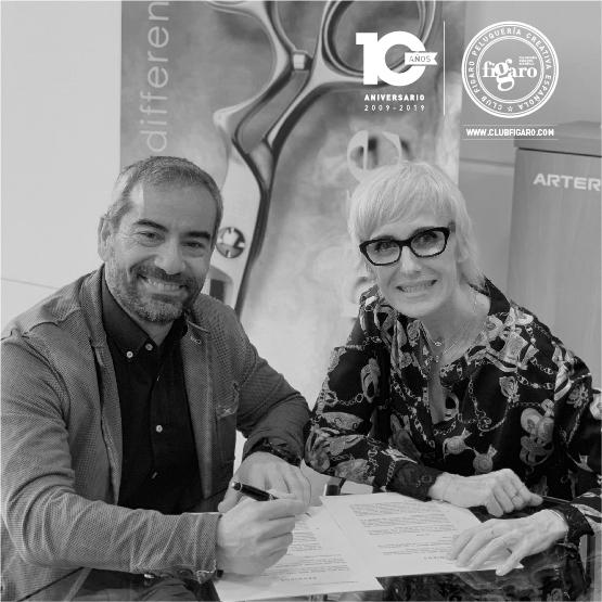 Artero, nueva colaboración con club Fígaro