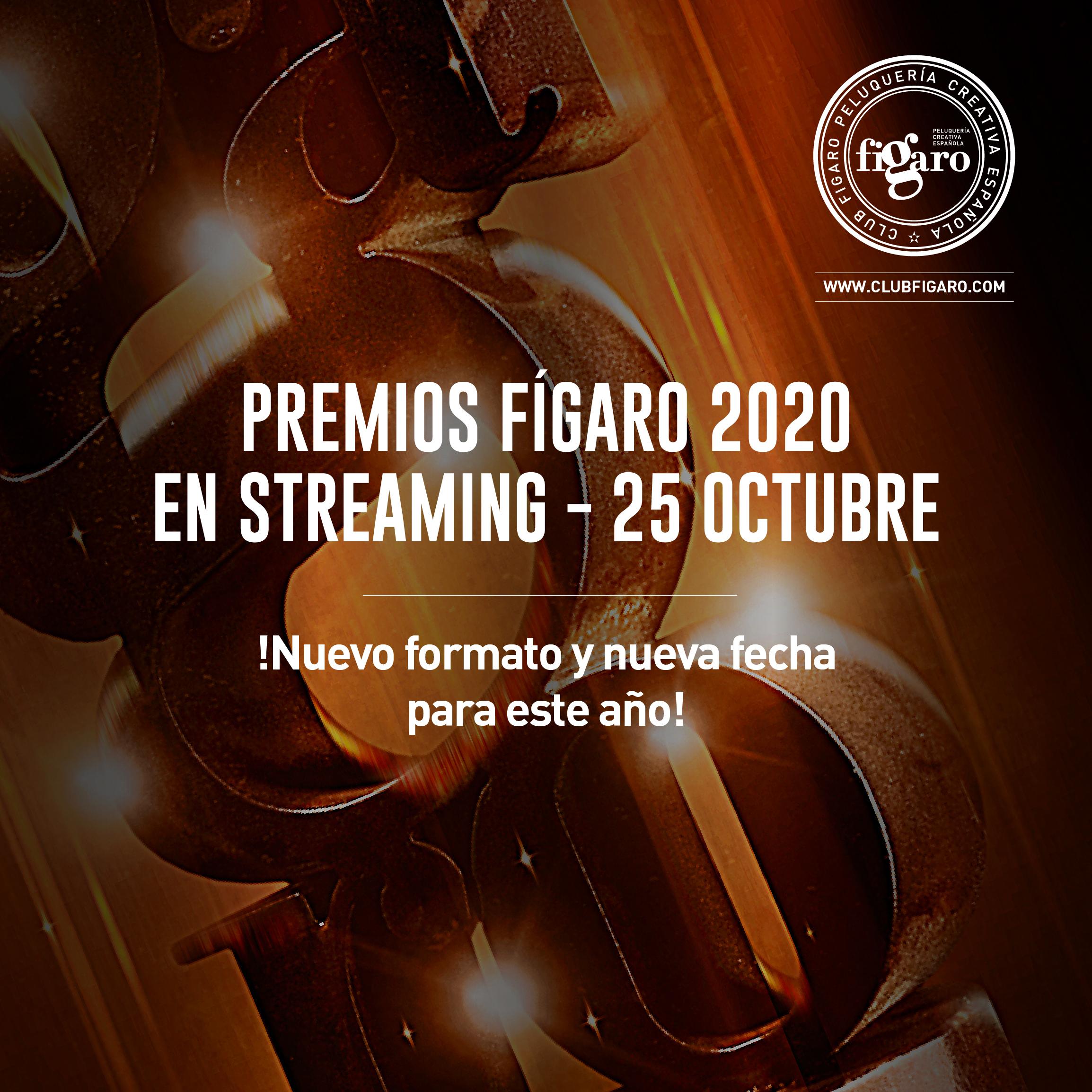 LOS PREMIOS FÍGARO ESTRENAN FORMATO STREAMING Y NUEVA FECHA