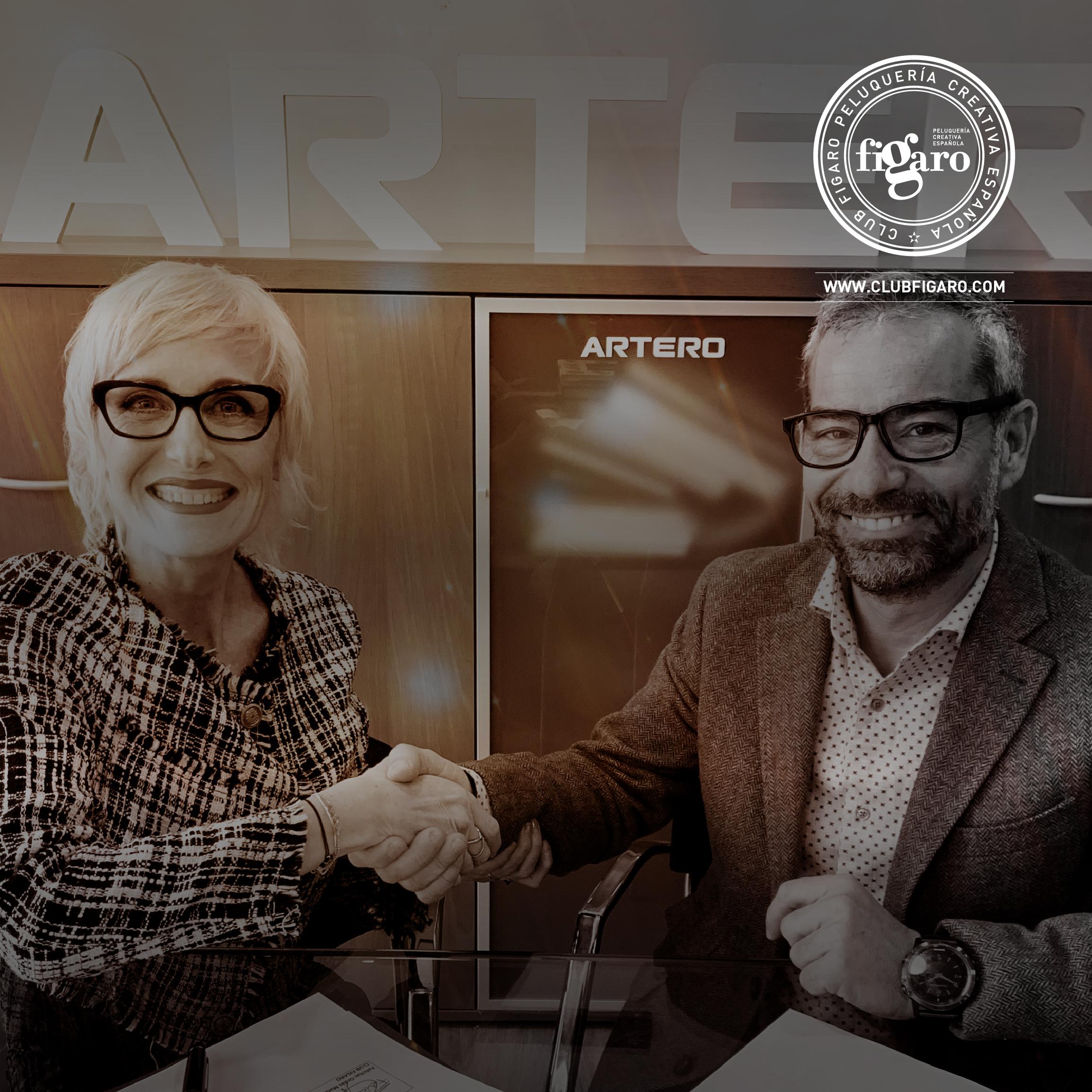 Artero renueva su compromiso con Club Fígaro